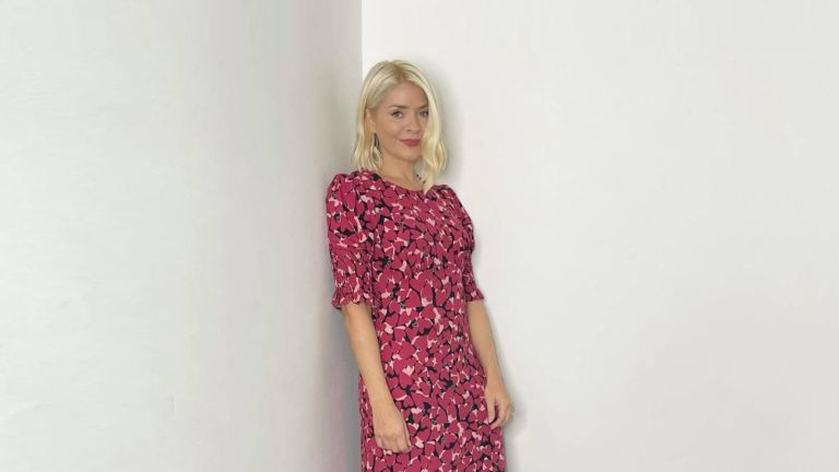 Holly Willoughby wearing Nobody's Child dress
