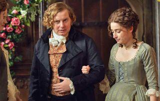 poldark, morwenna with Ollie, played by Christian Brassington