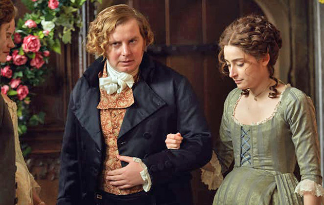 poldark, morwenna with Ollie, played by Christian Brassington