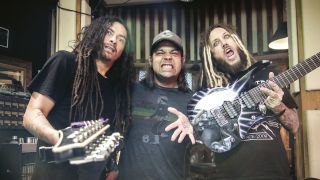 Korn in the studio 2016