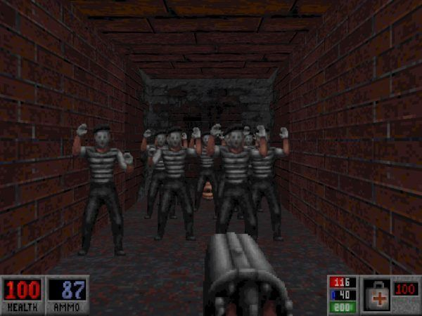 Great Moments In Pc Gaming The Dark Carnival Level In Blood