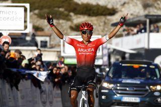 Tour de la Provence 2020 - 5th Edition - 3rd stage Istres - Mont Ventoux/Chalet Reynard 140,2 km - 15/02/2020 - Nairo Quintana (COL - Team Arkea Samsic) - photo Luca Bettini/BettiniPhoto©2020