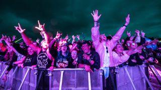 Crowd at Enter Shikari
