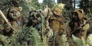 Ewoks in Star Wars: Return of the Jedi