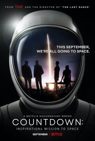 """""""Countdown: Inspiration4 Mission to Space"""" is scheduled to premiere Sept. 6, 2021."""
