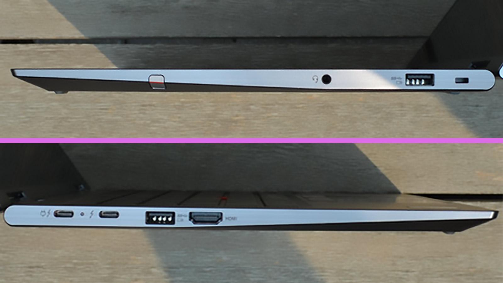 Lenovo ThinkPad X1 Yoga Ports
