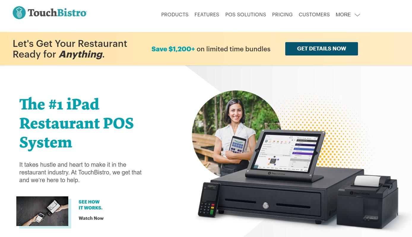 TouchBistro Inc POS homepage