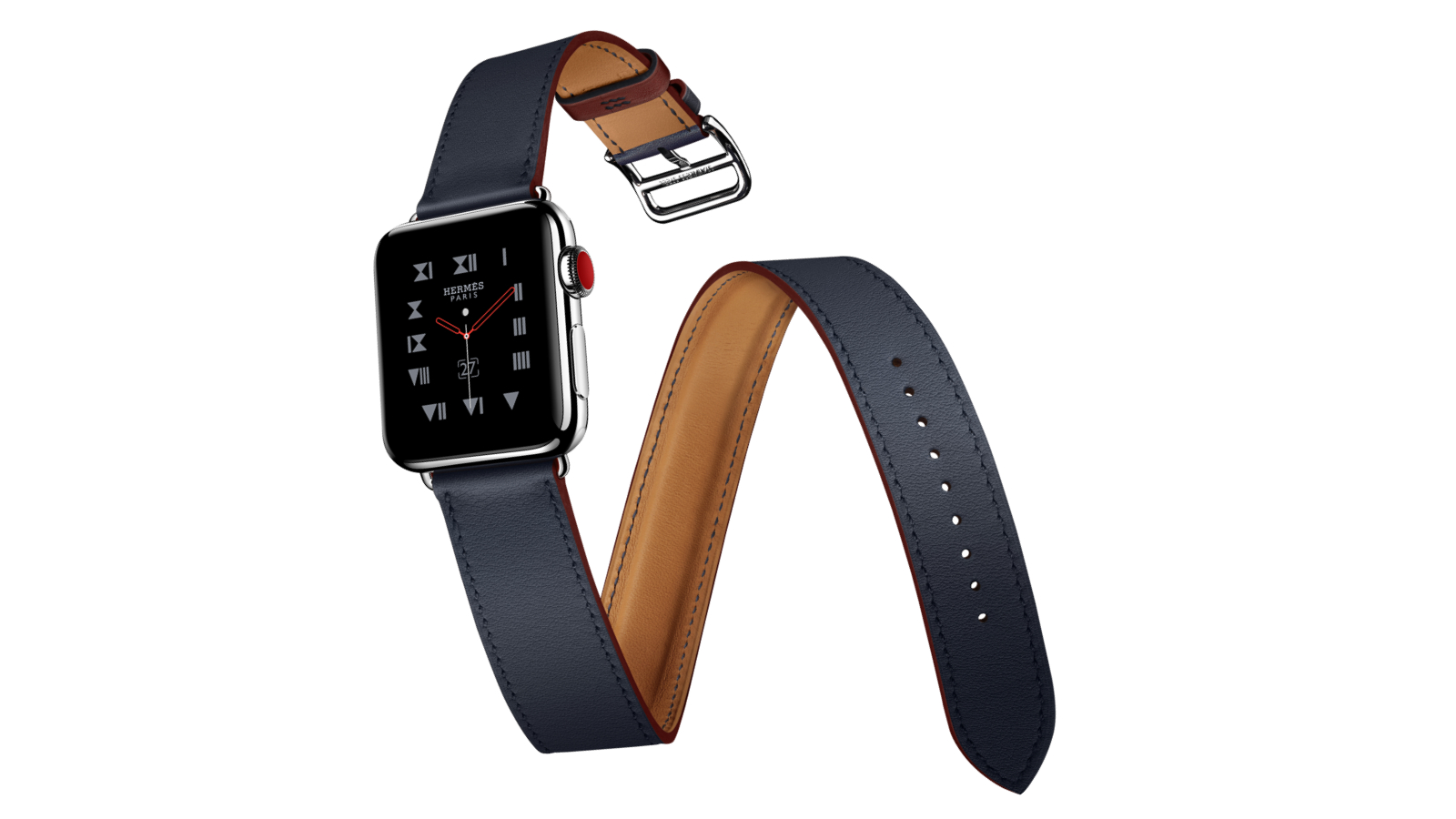 Apple Watch Hermès with the Double Tour strap (Image Credit: Apple)