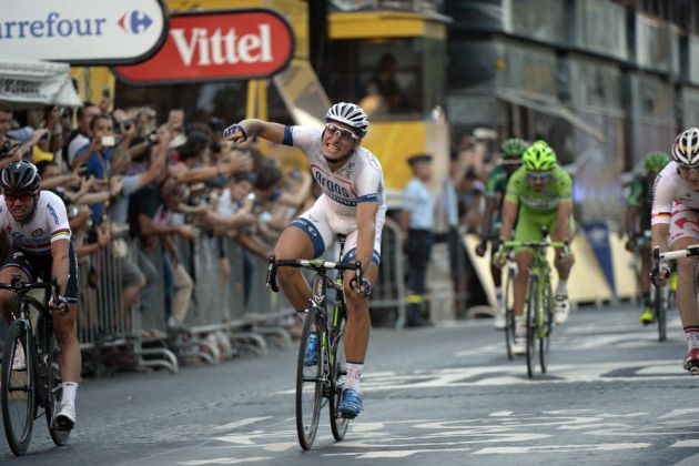 Marcel Kittel wins, Tour de France 2013, stage 21
