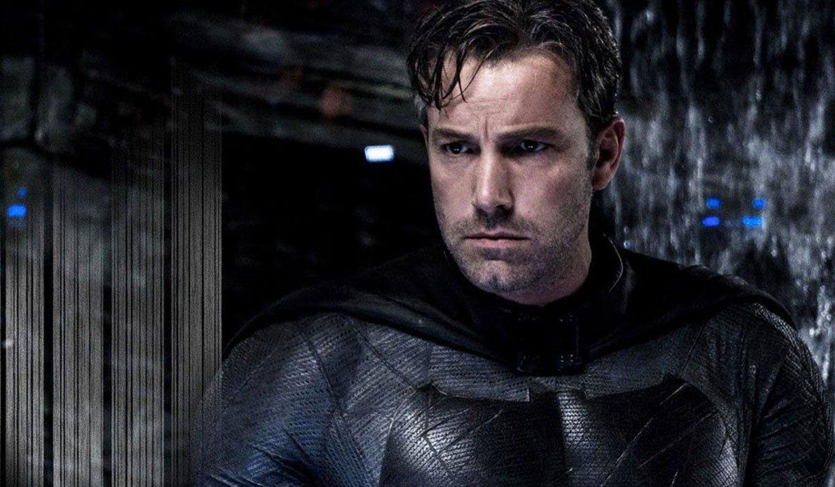 Batman v Superman Ben Affleck without his cowl