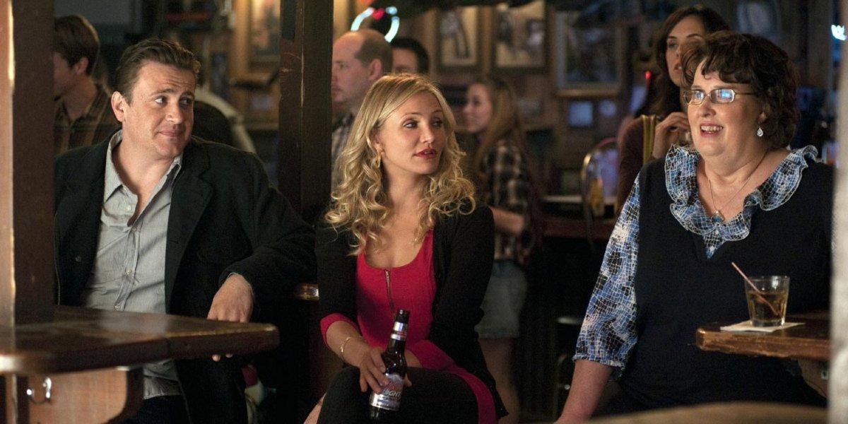 Jason Segel, Cameron Diaz, and Phyllis Smith in Bad Teacher