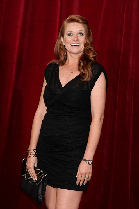 Patsy Palmer: 'I can't bear to leave my baby'