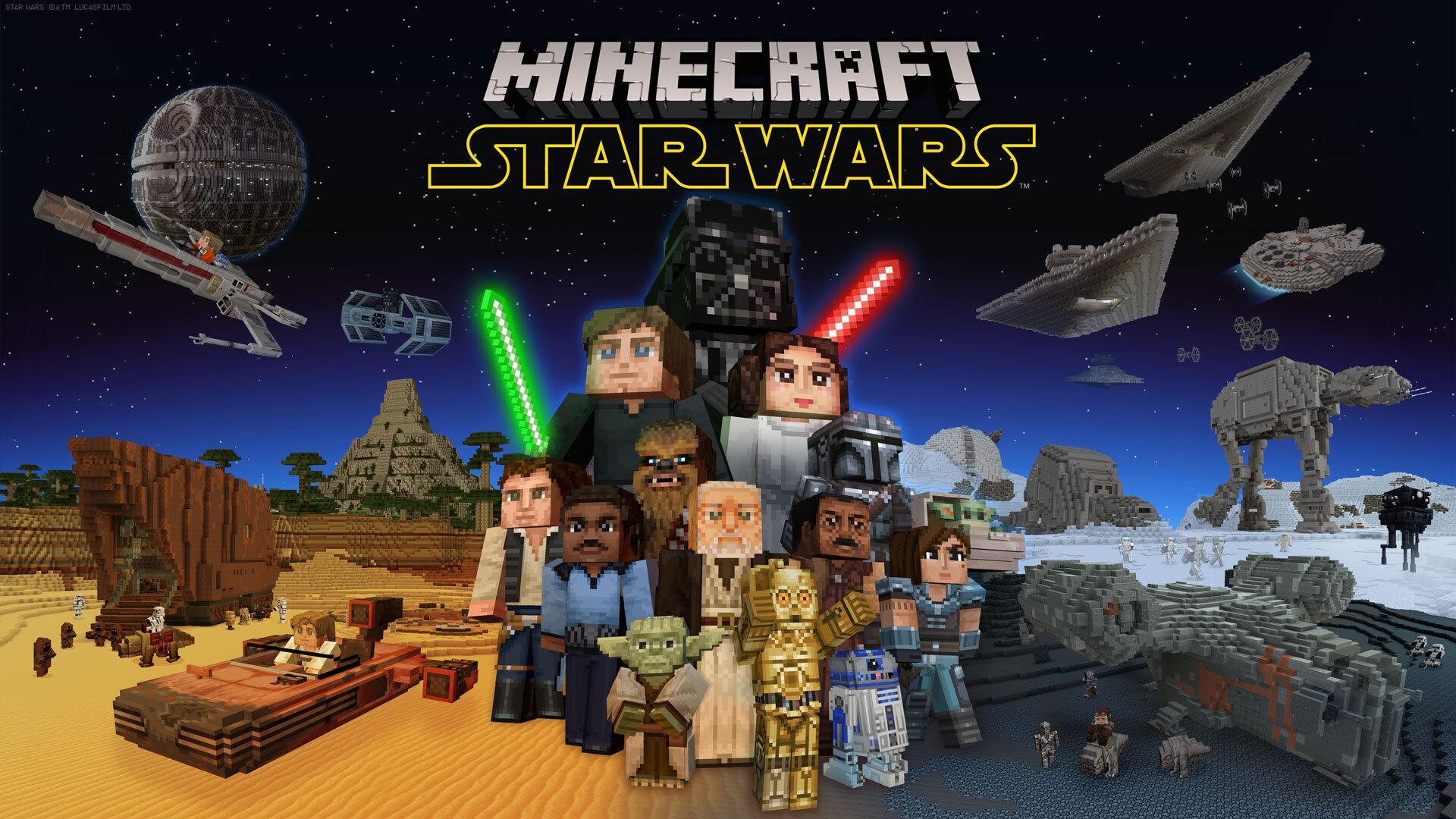 Minecraft Star Wars Dlc Announced Gamesradar