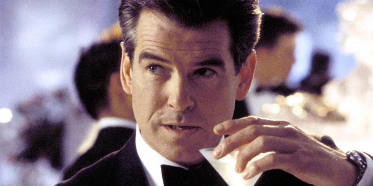 pierce brosnan shaken not stirred Martini as James Bond, 007