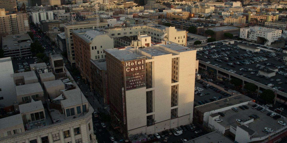 The Cecil Hotel in Crime Scene: The Vanishing At The Cecil Hotel