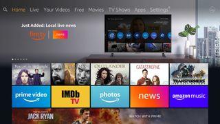 Amazon Fire TV news app