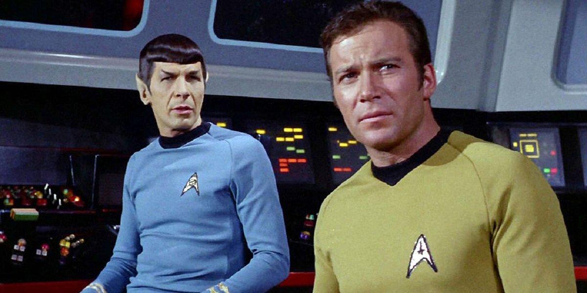 Star Trek Spock and Captain Kirk CBS
