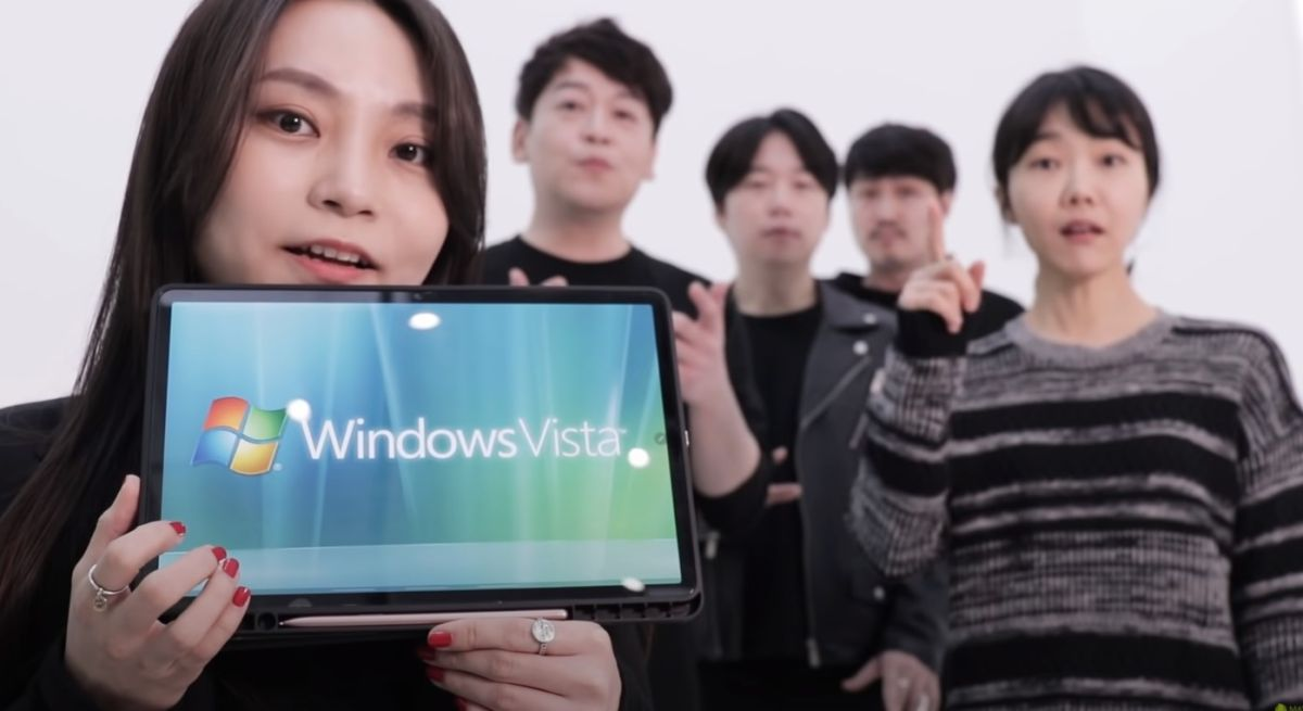 Here's 28 seconds of a Korean acapella group making Windows startup sounds you didn't know you needed