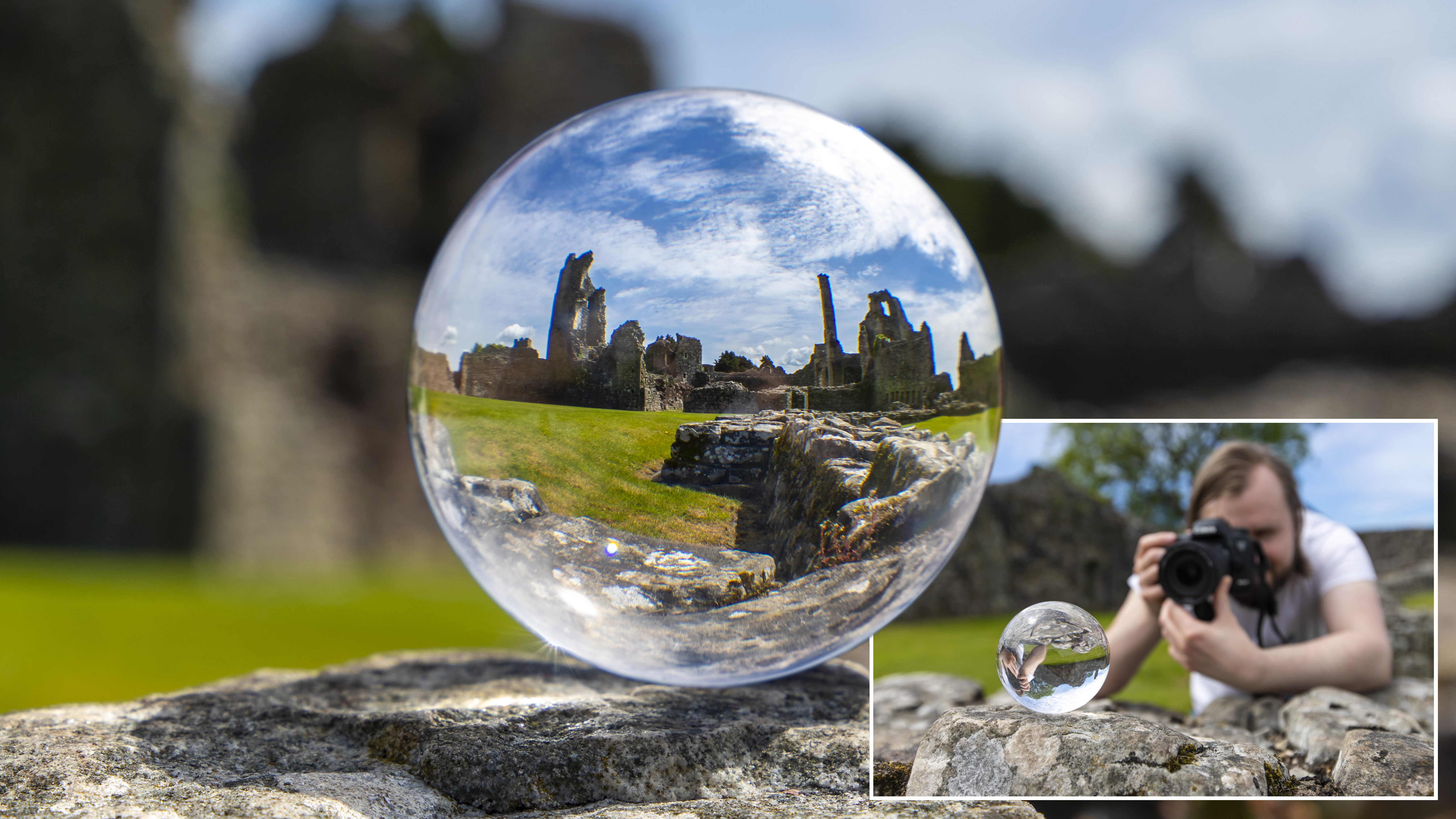 Home Photography Ideas Have A Ball By Shooting With A Lensball Digital Camera World