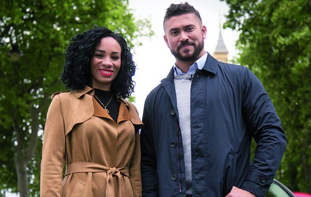 Rav Wilding and Michelle Ackerley present this new weekday series which looks at unsolved cases and asks for viewers' help in catching criminals