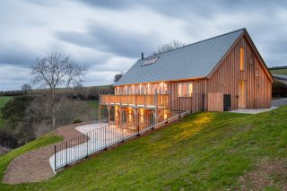 designing a home on a sloping site