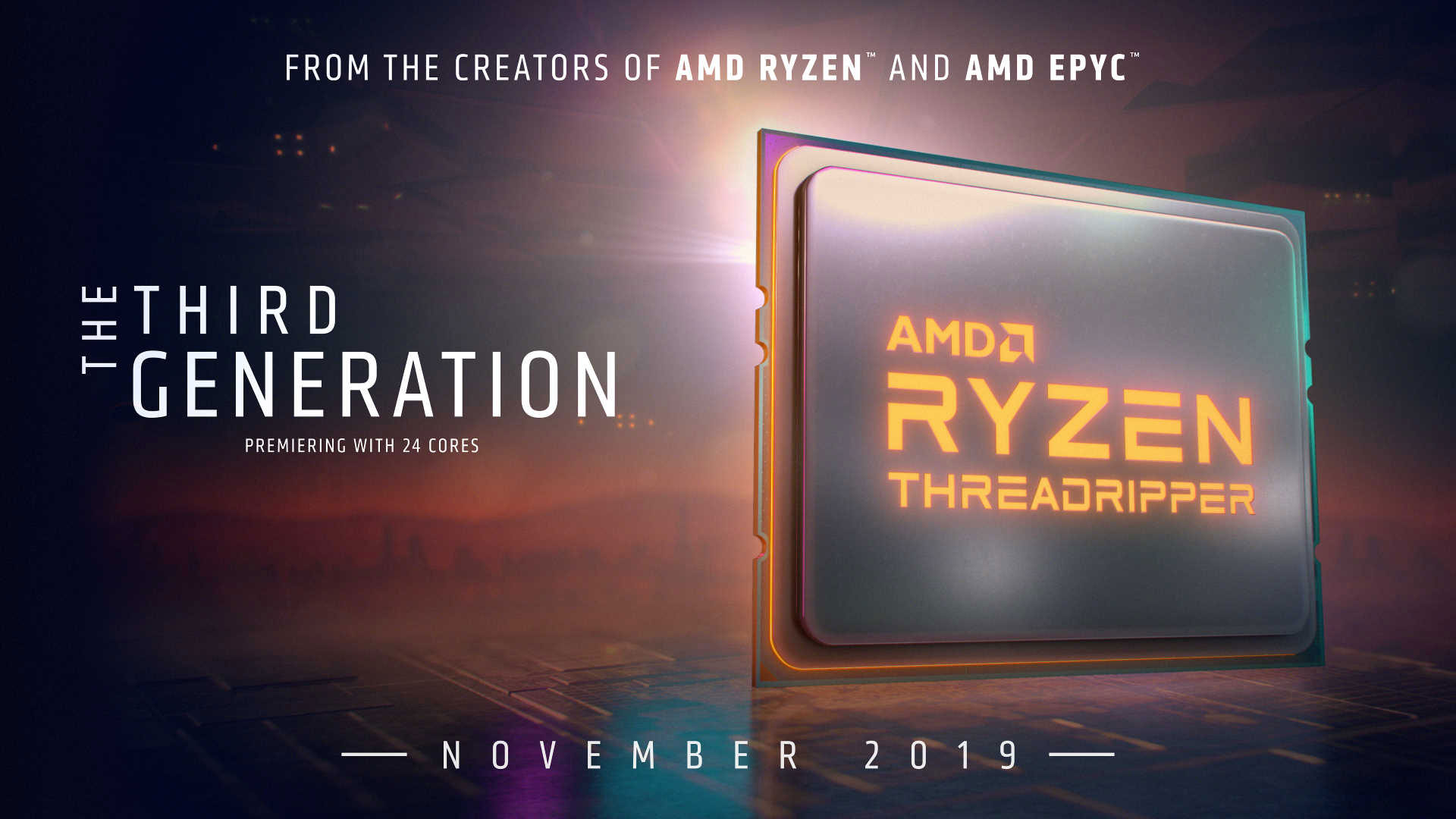 AMD's 16-core Ryzen 9 3950X and 3rd-gen Threadripper CPUs land in November | PC Gamer