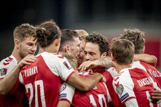 Denmark Scotland WCup 2022 Soccer