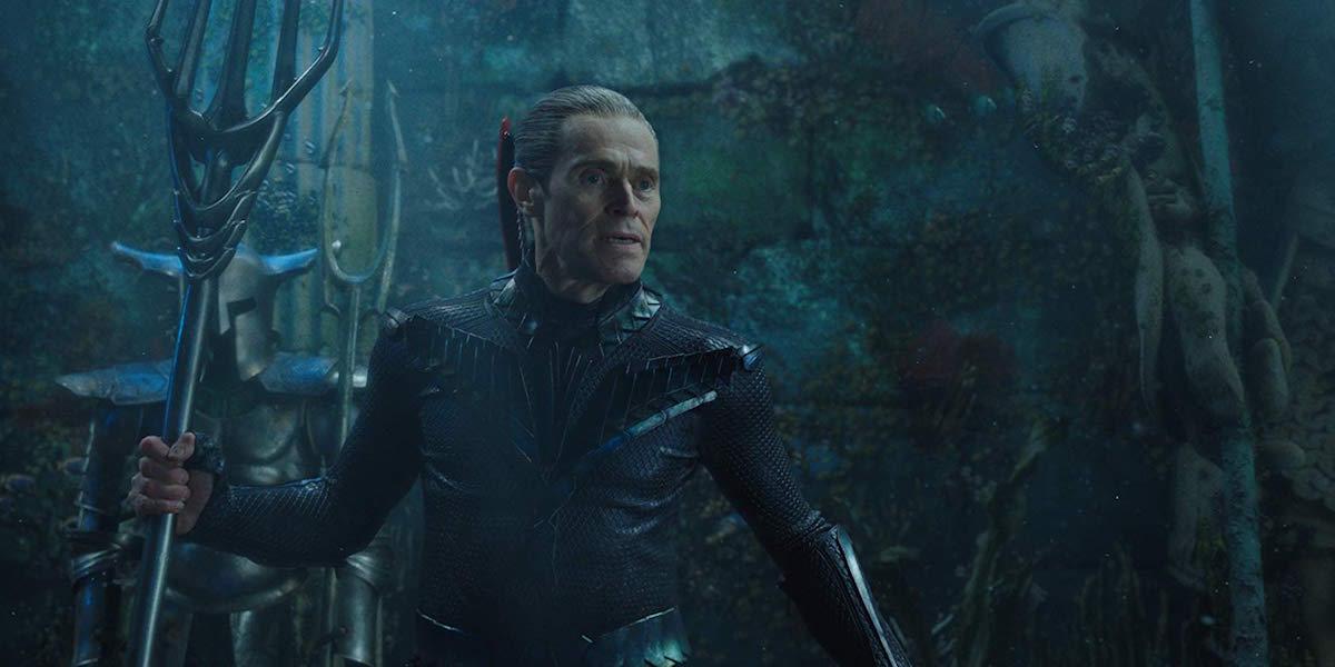 Willem Dafoe as Vulko in Aquaman
