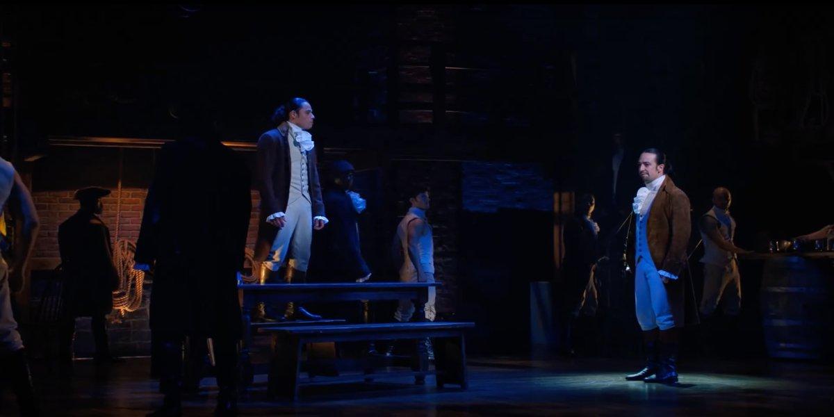 Hamilton screenshot Disney+