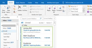 How to Print Multiple Emails From an Outlook Folder