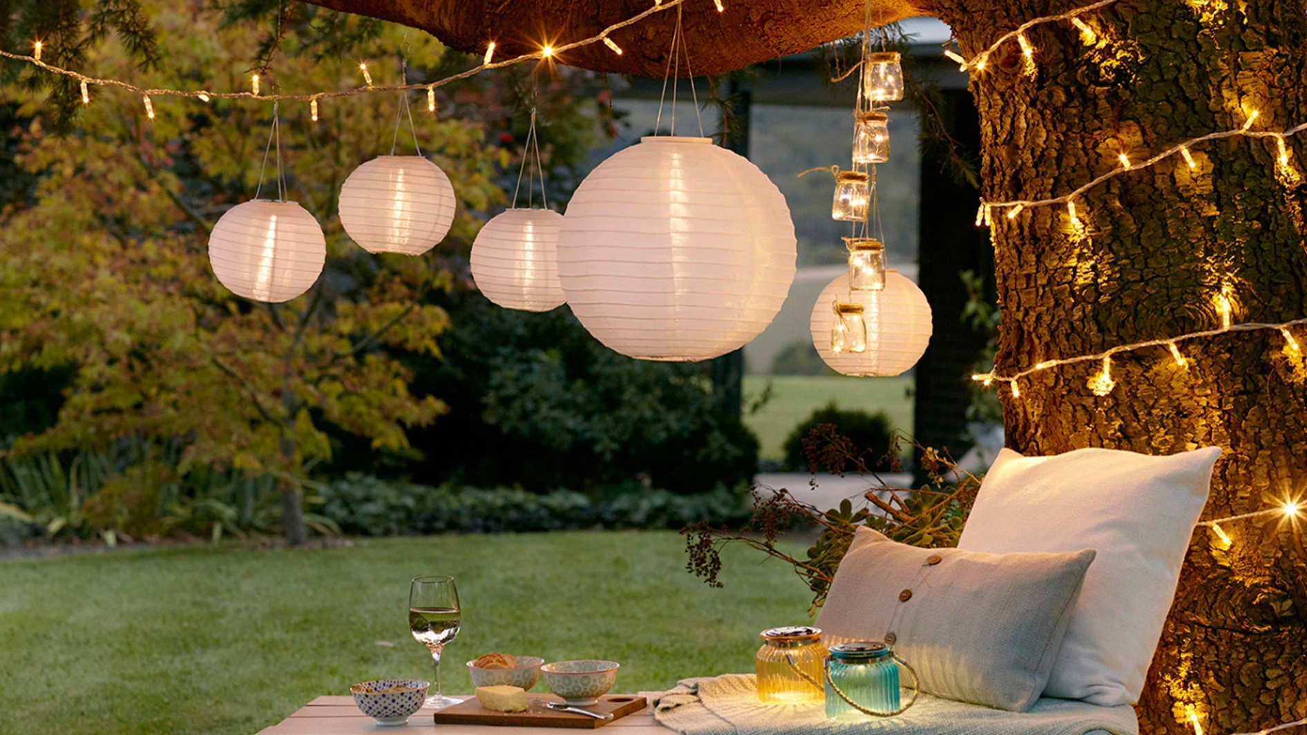 Best Outdoor Lighting 2020 8 Top Buys To Illuminate Your Garden Real Homes