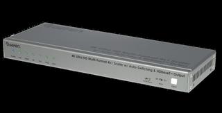 Gefen Ships New 4K Ultra HD Multi-Format 4x1 Scaler/Switcher