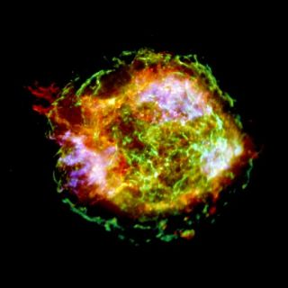 Exploded Star Detailed in New X-ray Image