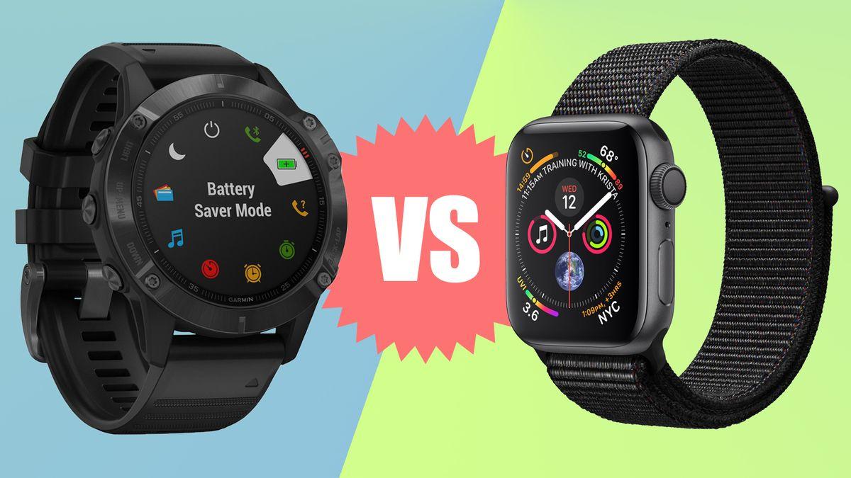 Garmin Fenix 6 Pro vs Apple Watch Series 5: which is the better fitness smartwatch?