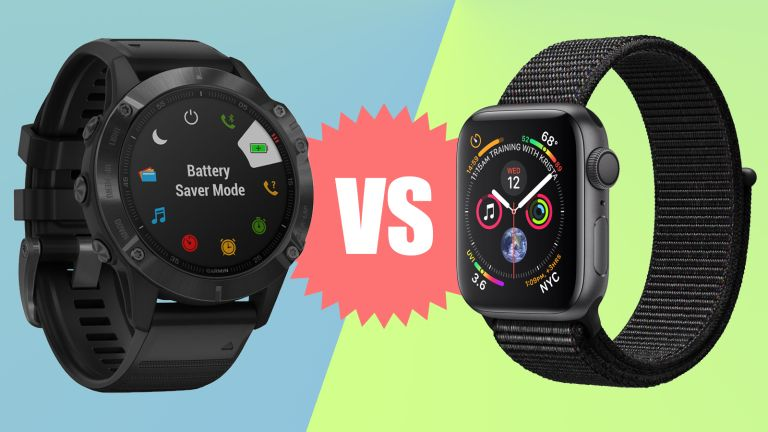 Garmin Fenix 6 Pro vs Apple Watch Series 5 comparison