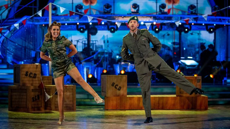 JJ Chalmers and Amy Dowden on Strictly Come Dancing
