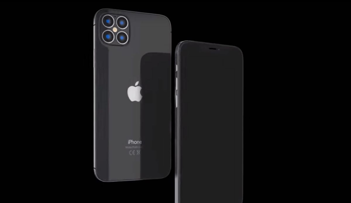 New iPhone 12 design shows off biggest EVER screen and four cameras