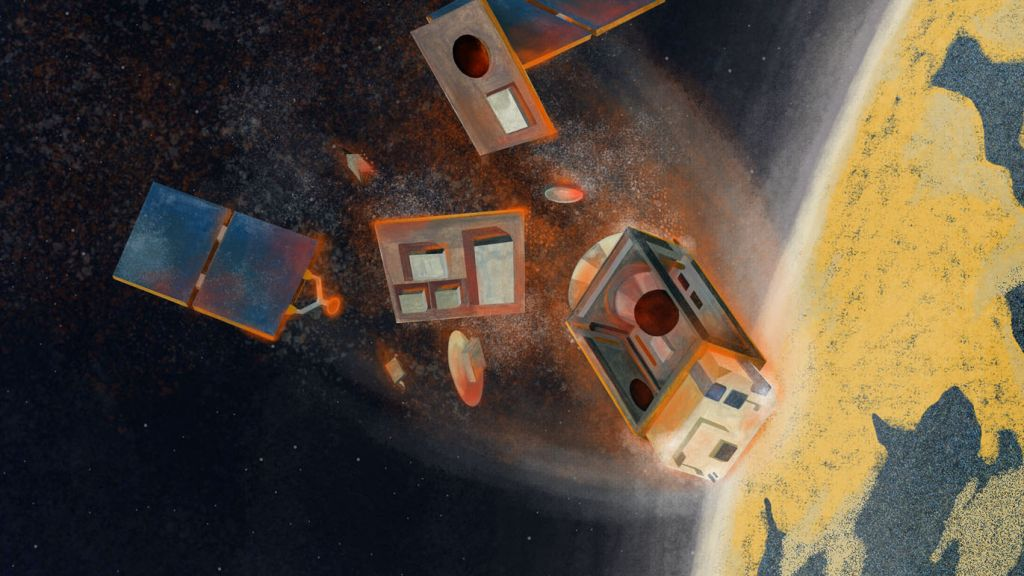 Air pollution from falling megaconstellation satellites could cause ozone hole 2.0