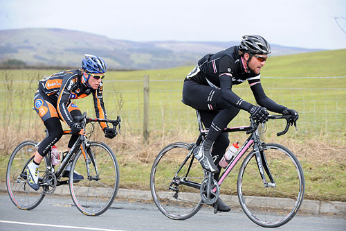 Dan Craven and Pete Williams, Clayton Velo Spring Classic