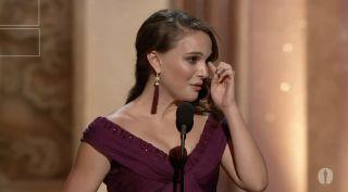 Natalie Portman Academy Award speech