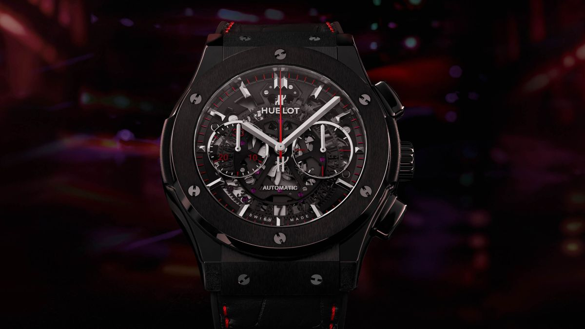 Hublot teams up with Watches of Switzerland for limited edition Classic Fusion Aerofusion