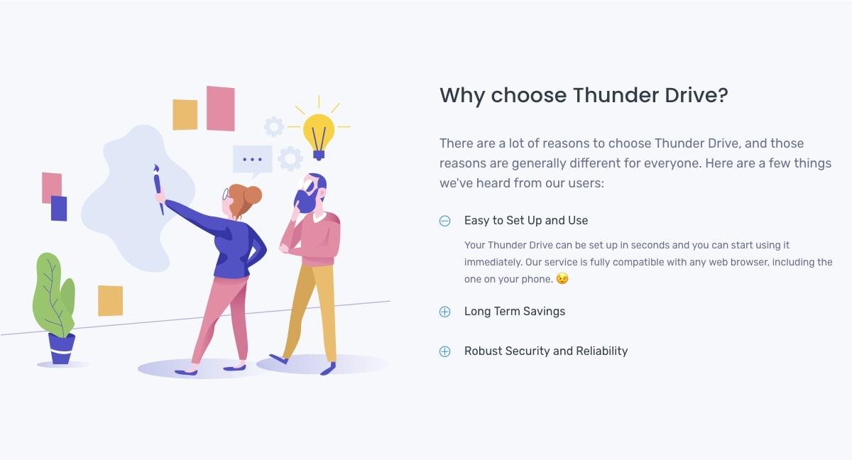 ThunderDrive Evaluation
