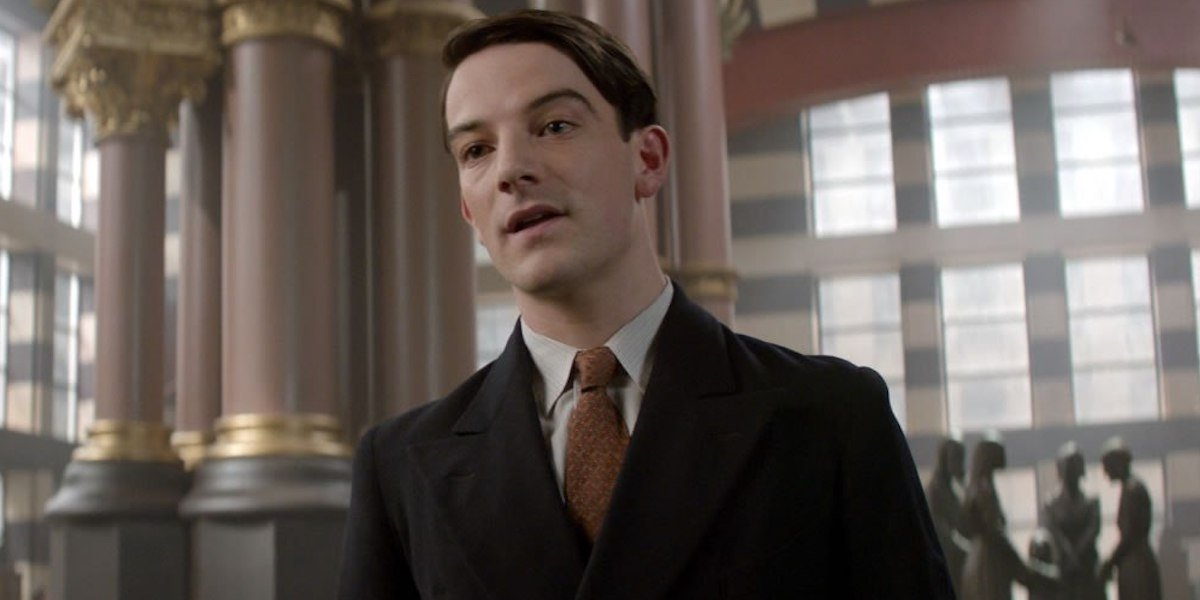 Kevin Guthrie in Fantastic Beasts