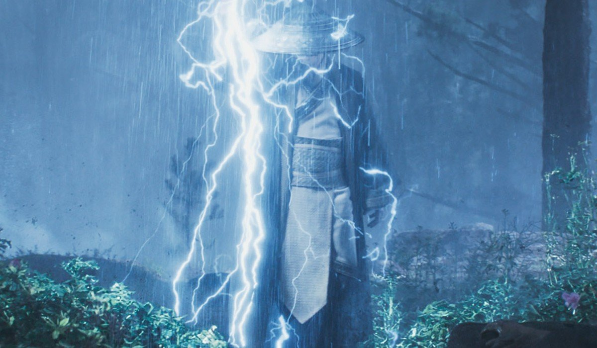 Raiden in Mortal Kombat