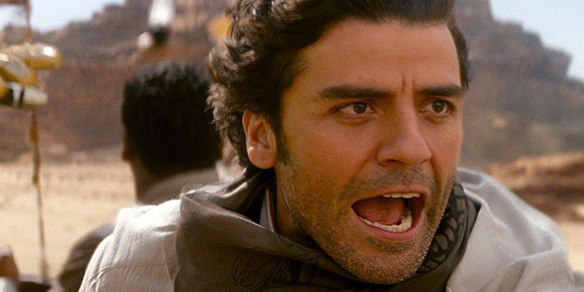 Oscar Isaac in Star Wars: The Rise of Skywalker Lucasfilm