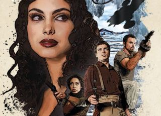 """The cover of """"Firefly: Life Signs"""" (Titan Books, 2021)"""