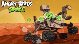 Angry Birds on Mars