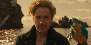 Dolittle Robert Downey Jr. looking slyly to the side
