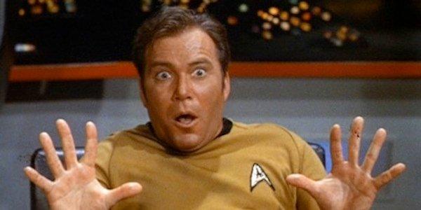 Surprised Shatner in Star Trek