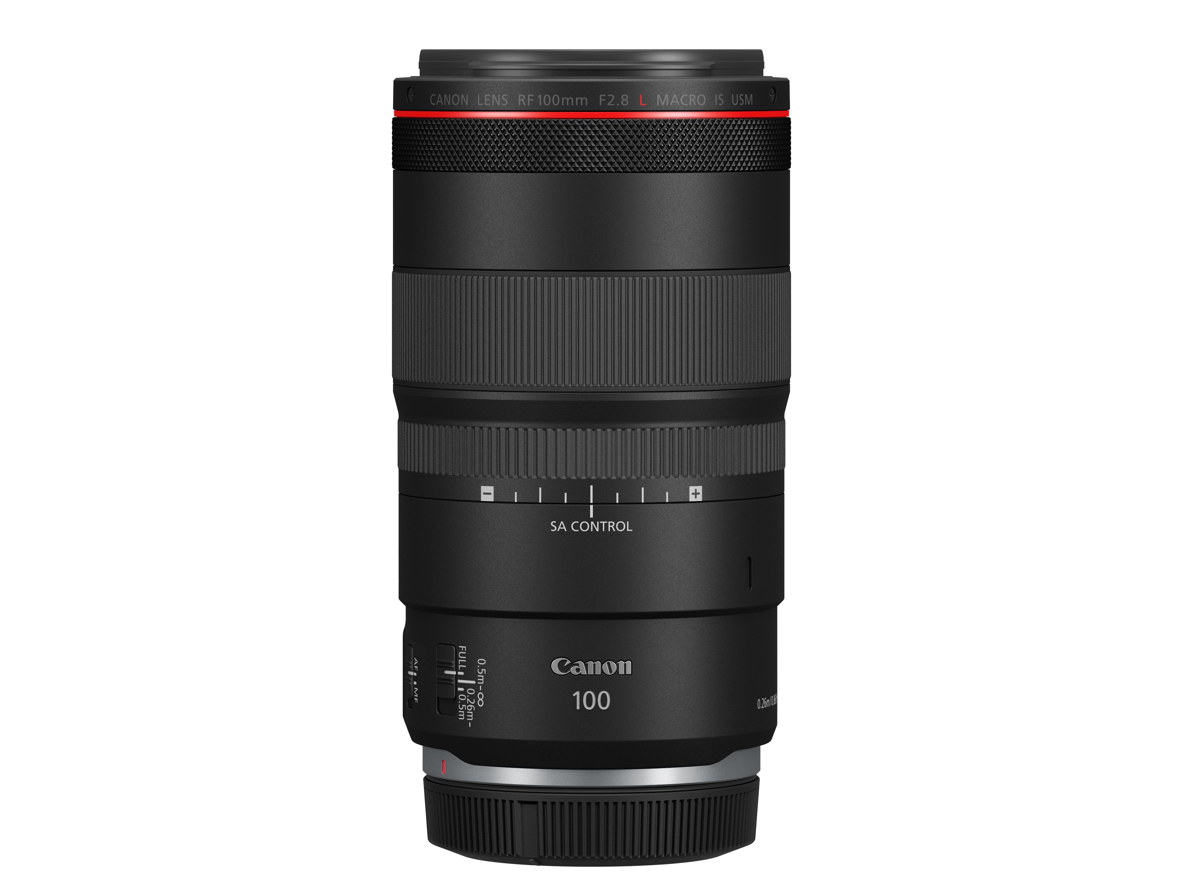 Canon RF 100mm f/2.8L Macro IS STM lens